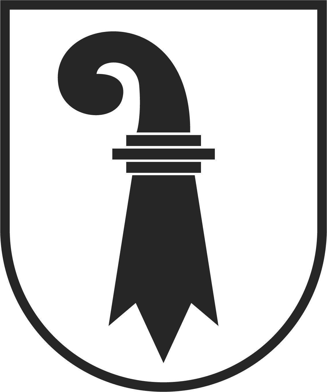 Wappen des Kantons Basel-Stadt