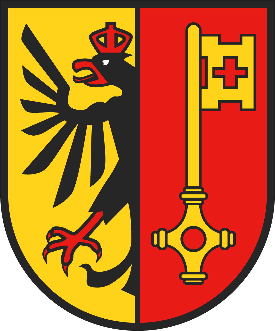 Wappen des Kantons Genf