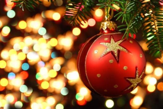 Weihnachtsschmuck ist in der Schweiz Frauensache