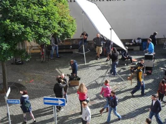 10 Stunden Chaos am Set für 5 Minuten Film