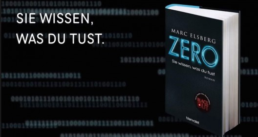 """Ein Roman für die facebook-isierte Gesellschaft: Buchrezension """"ZERO"""""""