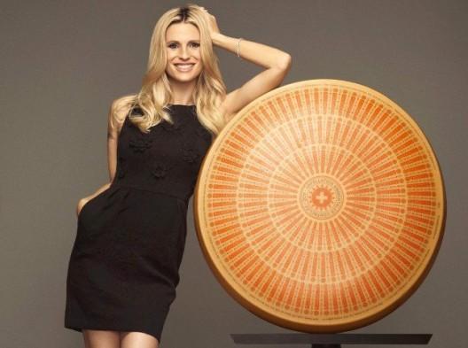 Prominenter Werbeträger für Emmentaler Switzerland: Michelle Hunziker