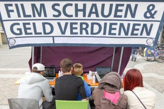 Aufklärungsaktion über Tierversuche in Winterthur