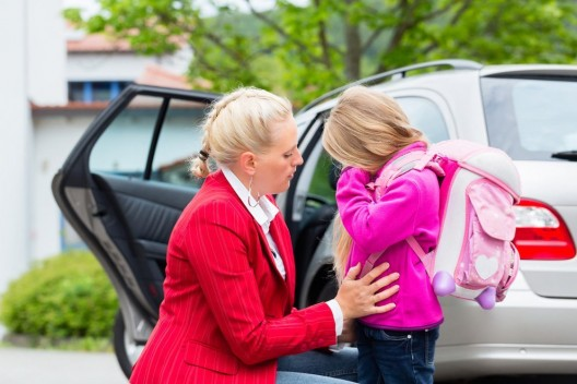 Morgendlicher Stress der Eltern gefährdet Schulkinder