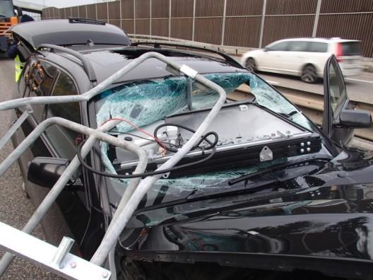 Mumpf AG: Deutscher BMW-Fahrer auf Autobahn verunfallt