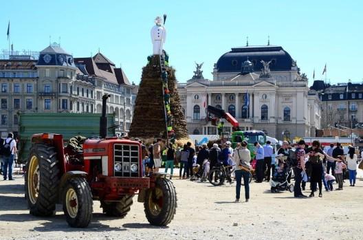 Stadt Zürich: Verkehrsvorschriften für das Sechseläuten 2017
