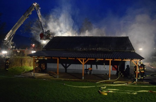 Inwil LU: Brand in Pfadihaus - Jugendlicher Brandstifter (17) meldet sich