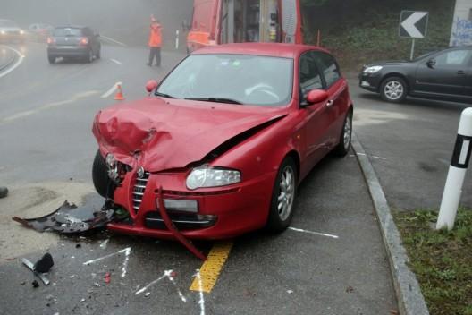 Stadt St.Gallen: Zwei Autos frontal zusammengekracht – zwei Verletzte