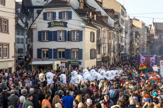 Basel-Stadt BS: Fasnacht 2017: