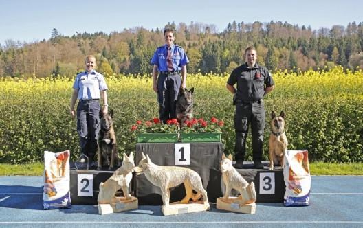 Lüterkofen SO: Schweizer Meisterschaft der Polizeihundeführer 2017
