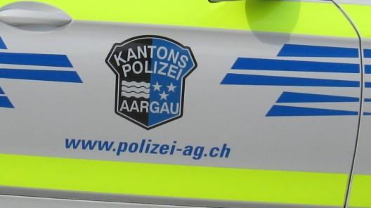 Lenzburg AG: Nach Farbschmierereien drei Tatverdächtige angehalten