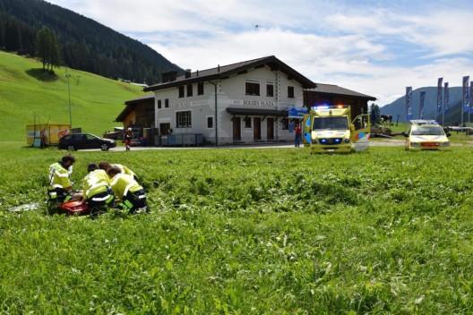 Davos GR: Gleitschirmpilot nach Absturz schwer verletzt
