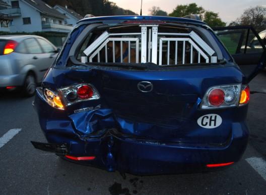 Mauensee LU: Drei Autos an Auffahrunfall beteiligt – zwei Personen verletzt