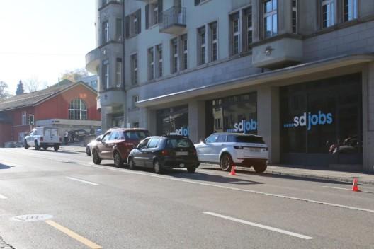 Stadt St.Gallen: Zwei Autos auf dem Unteren Graben kollidiert - Zeugenaufruf