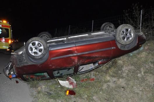 Niederbipp SO / A1: Nach Streifkollision landet Auto auf dem Dach – Zeugenaufruf