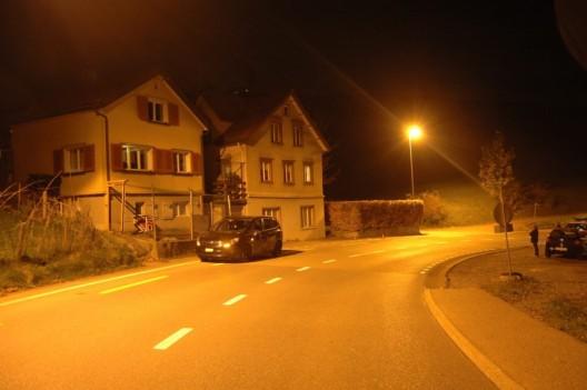Heiden AR: Motorradlenker (19) mit Auto zusammengestossen und verletzt