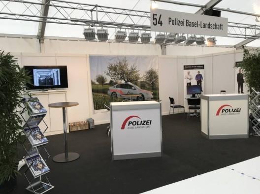Liestal BL: Polizei Basel-Landschaft präsentiert sich an der Berufsschau 2017