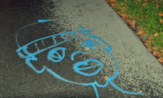 Eschen / Nendeln (FL): Ein Mädchen und zwei Jungen als Sprayer aktiv