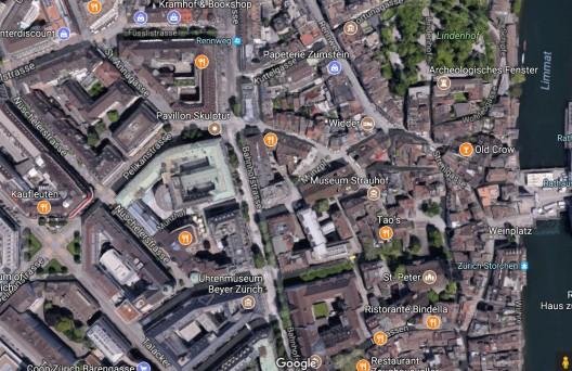 Stadt Zürich: Brand an der Bahnhofstrasse mit beträchtlichem Sachschaden