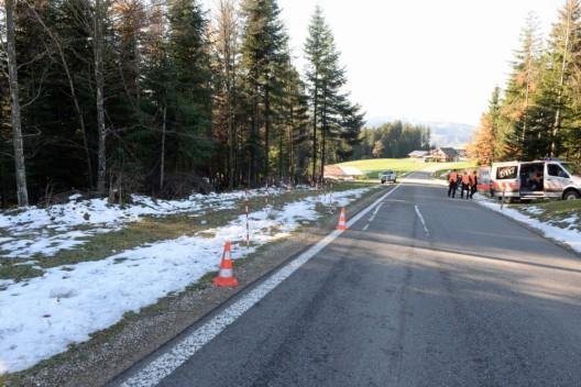 Entlebuch LU - Finsterwald: Schweizer (21) baut massiven Selbstunfall mit Audi