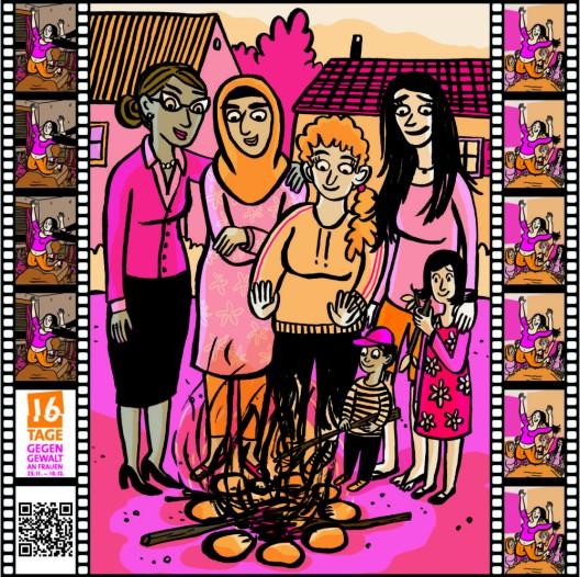 Kanton Luzern: Zusammenstehen gegen Gewalt an Frauen