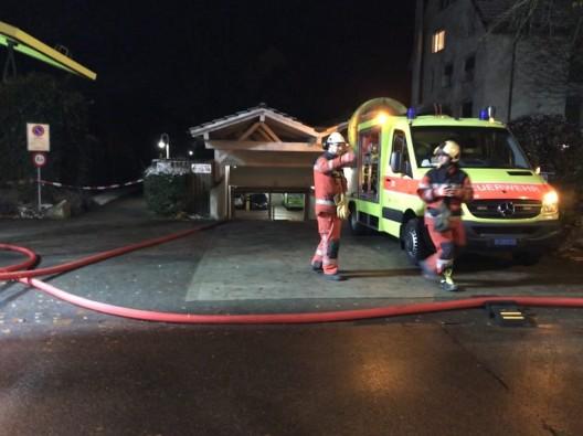 Regensdorf ZH: Grosser Schaden bei Brand in Tiefgarage - über 1 Million Sachschaden