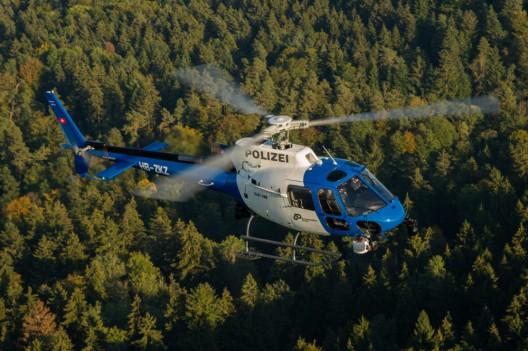 Kanton Zürich: Vermisster (80) dank Polizeihelikopter gerettet
