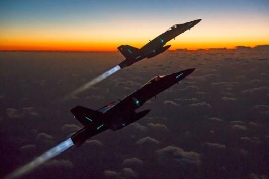Luftpolizeidienst: 36 Stunden Einsatzbereitschaft erfolgreich getestet