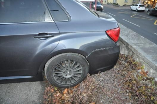 Vaduz FL: Selbstunfall durch mangelndes Sichern des Fahrzeuges