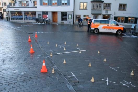 Stadtpolizei St.Gallen SG: Verkehrsunfälle - zwei Einsätze in der Stadt