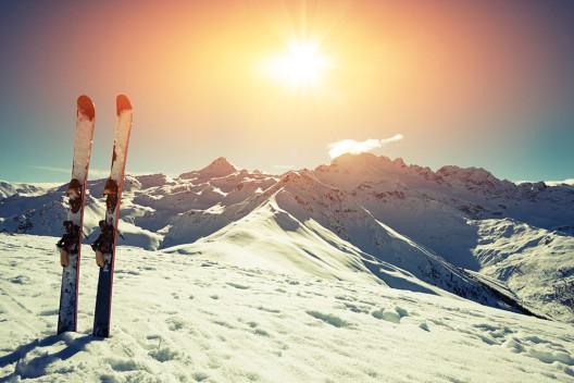 Bei mehr als der Hälfte aller Skiverletzungen sind die Beine betroffen