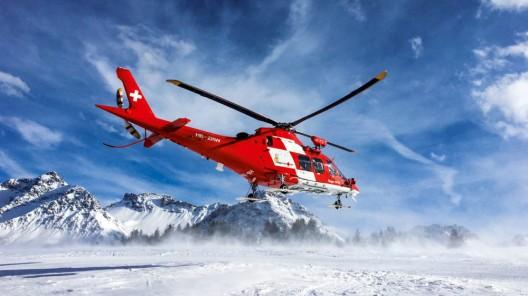 Rega an Silvester pausenlos im Einsatz - rund 110 Helikopter-Einsätze an einem Tag