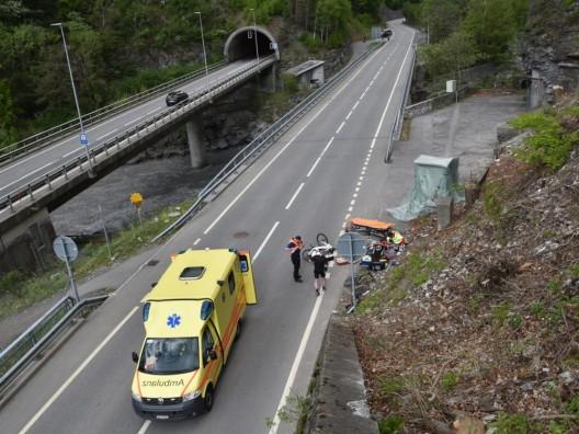 Grüsch GR: Radfahrer und E-Biker zusammengeprallt – 58-Jähriger verletzt