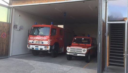Bern BE: Brand auf einer Baustelle durch Feuerwehr rasch gelöscht