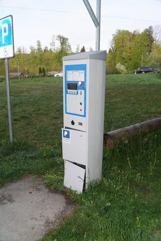 Rapperswil-Jona SG: Einbruch in Werkhof - Ticketautomaten aufgebrochen
