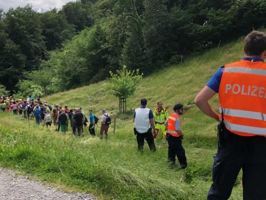 Seelisberg UR: Koordinierte Evakuationsübung mit 110 Schülern