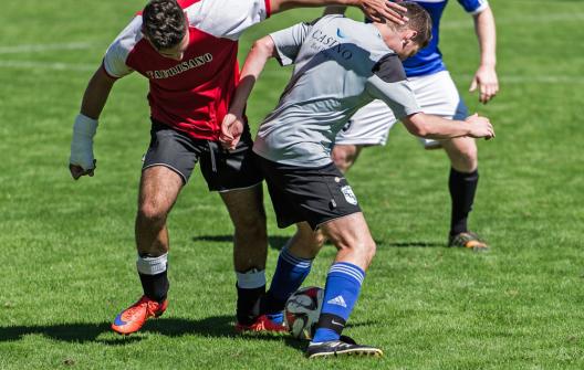 Achtung Fussballer: Erhöhtes Verletzungsrisiko vor dem WM-Finale