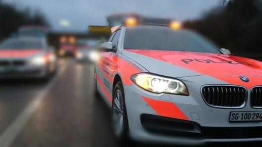 Kanton St. Gallen: Mehrere fahrunfähige Verkehrsteilnehmer angehalten