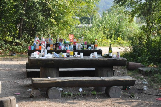 Schönenwerd SO: Unmengen an Abfall nach Fest liegengelassen - Zeugenaufruf