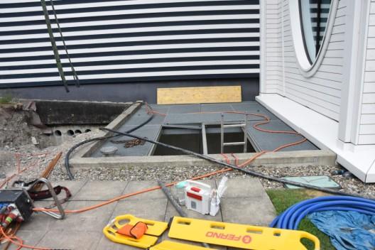 Bad Ragaz SG: Bauarbeiter fällt in 4.8 Meter tiefen Schacht und verletzt sich schwer