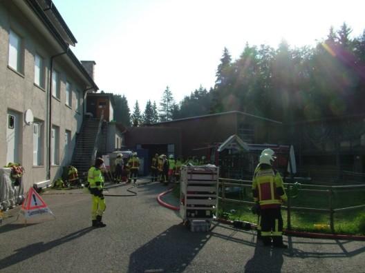 Schönengrund SG: Brand in Industrieanlage ausgebrochen – hoher Sachschaden