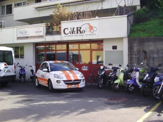 CAVERO GmbH in Horw: Ihr zuverlässiger Partner für Carosserie, Velo und Roller
