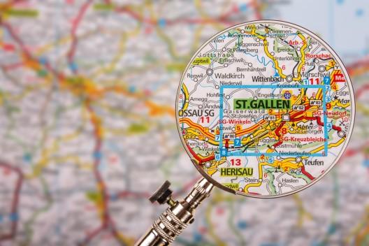 St. Gallen SG: Erweiterte Blaue Zone Sektoren 3 und 10 - Änderungen in Kraft