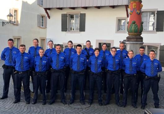 Aarau AG: Feierliche Vereidigung – 16 neue Korpsangehörige aufgenommen