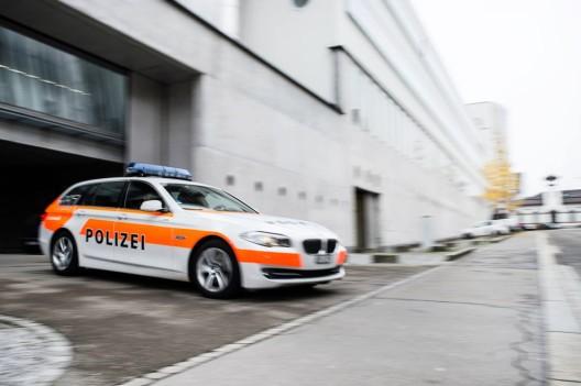 St. Gallen SG: Mit Schreckschusspistole in die Luft geschossen