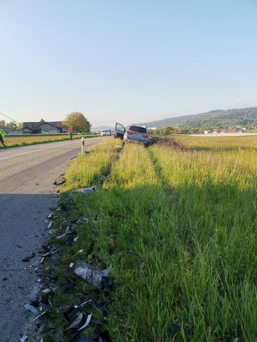 Othmarsingen AG: Sachschaden von zirka 40'000 Franken bei Verkehrsunfall