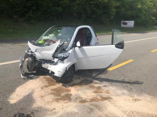 St-Gingolph VS: Drei Personen bei Verkehrsunfall verletzt