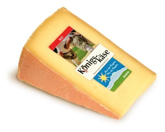 Königkäse - der würzige Käse zum Schwingfest