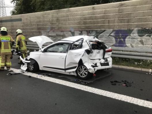 Verkehrsunfall auf der BAB 31