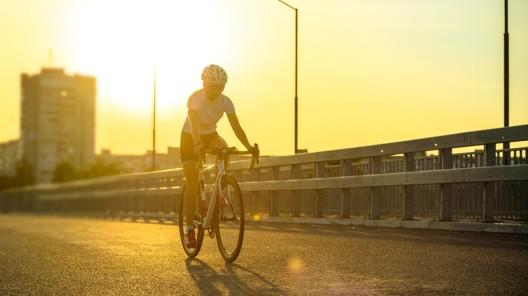 Fahrradfahren bei Hitze